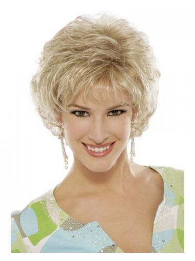 Billige Blonden Damen Klassische Perücken