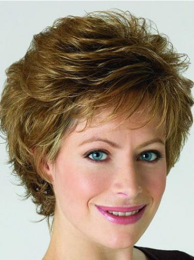 Populärer Stil Grauene Blonden Klassischen Perücken