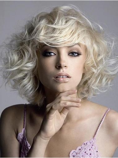 Blonde Gewellten On-line Kurzen Perücken