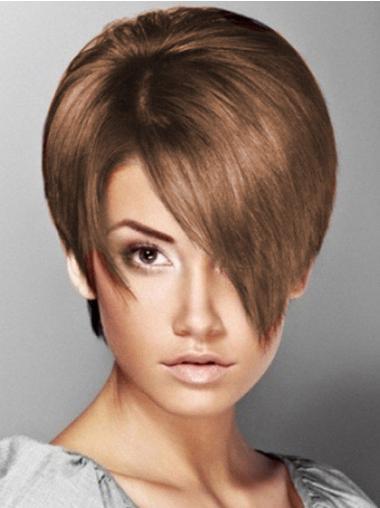 Haarschnitt Braune Neuen Synthetischen Perücken