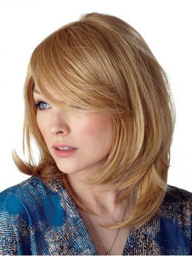 Neue Blonden Mittlere Perücken
