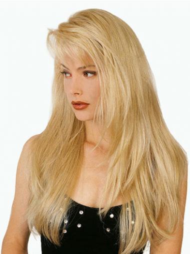 Hochwertigen Blonden Langen Perücken