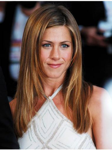 Jennifer Anistons Lange Glatte Rotbraune Wunderbare Perücken