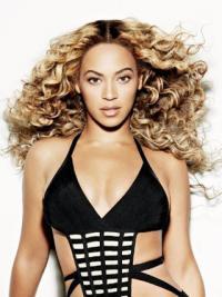 "Neue Beyonce 18"" Verdicken Echthaar Spitzen Perücken"
