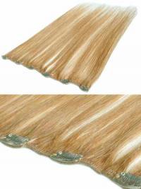 Neue Glatten Blonden Clip in Haar Extensions
