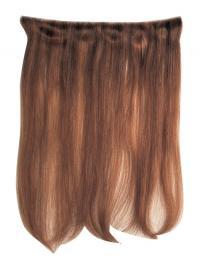 Attraktive Glatten Rotbraunen Clip in Haar Extensions