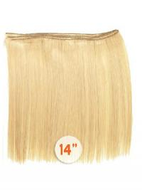 Blonde Glatten Billigen Spinnende Extensions