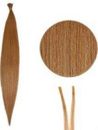 Rotbraune Beliebten Stick/I Tip Haar Extensions