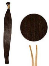 Rotbraune Attraktiven Stick/I Tip Haar Extensions