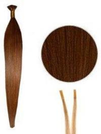 Rotbraune Flexibilitäten Stick/I Tip Haar Extensions