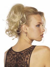 Schone Gewellten Blonden Clip In Haarteile