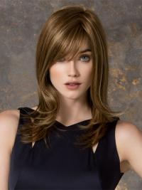 Populäre Blonden Glatten Neuen Synthetikperücken