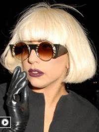 Bequeme Blonden Mittleren Lady Gaga