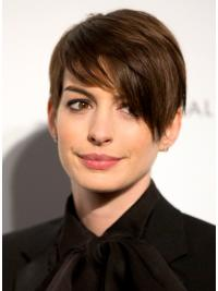 Modische Braunen Anne Hathaway