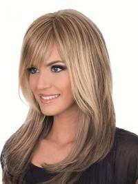 Haarschnitt Glatte Stufigen Mono-Handgeknupftperücken