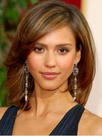 Mittlere Braunen On-line Synthetik Jessica Alba