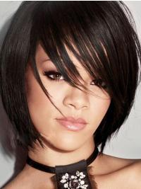 Schwarze Bobs Glatten Moden Rihanna