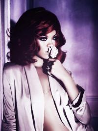 Rote Klassischen Gewellten Beste Rihanna